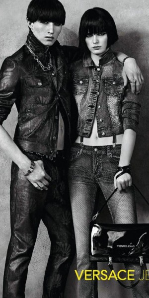 Jester White and Zlata Mangafic for Versace Jeans Fall/Winter 2013 Campaign